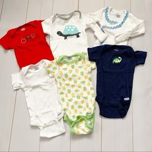 0-3 Month Onesie & Top Lot